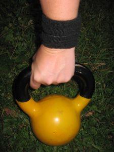 8 kilo kettlebell