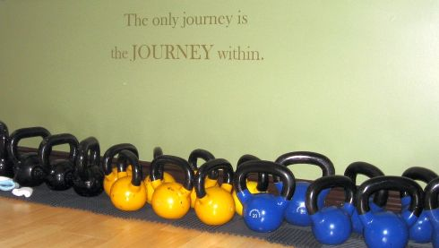 the whole way kettlebell family