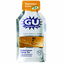 gu energy gel - espresso love flavour