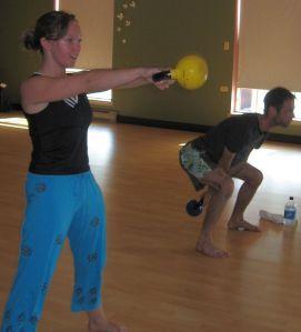 kettlebells - a full body workout