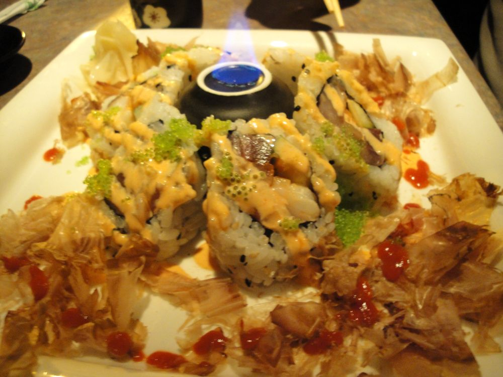 volcano roll | the whole way
