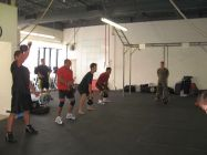 AKC training clean&snatch circuit 2